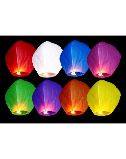 Lampion 38x58x108cm mix LAMP5