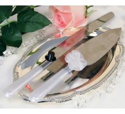 Zestaw do ciasta z cylindrem i kwiatkiem NÓŻ1-ŁÓP1