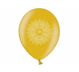 Balon komunijny nadruk biały 110-060