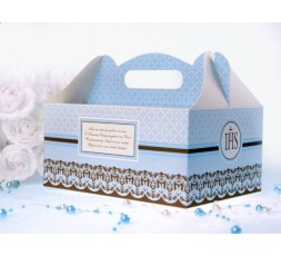 Pudełko na ciasto komunijne PUDCS6/B