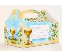 Pudełko na ciasto komunijne PUDCS7