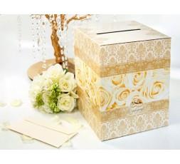 Pudełka na koperty z życzeniami PUDT1
