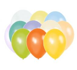 "Balony 10"" metalik mix 10M-000P"