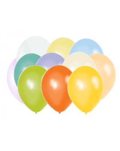 """Balony 10"""" metalik mix 10M-000P"""