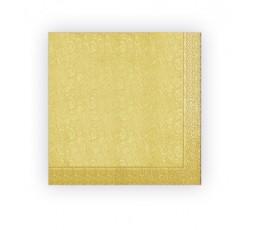 Serwetka 3 warstwowa złota S33-019