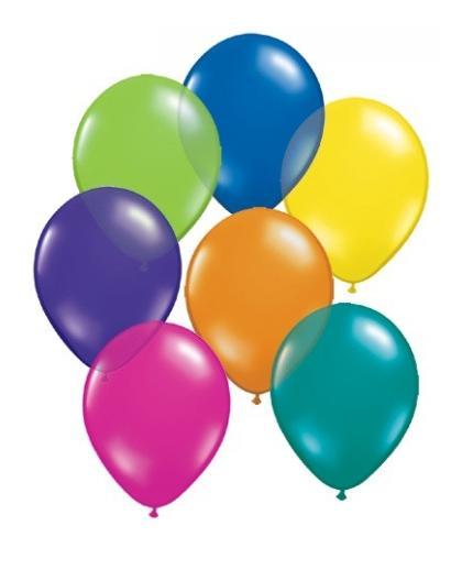 """Balony 12""""metalik mix 12M-000"""