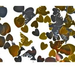 Konfetti metalizowane KONS1