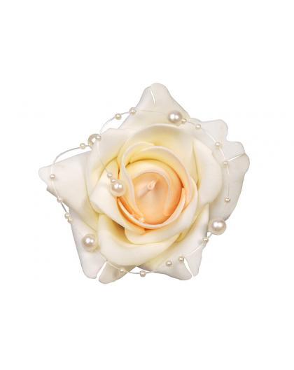 Róże z perełkami na przyssawkach 4szt KWR3-079