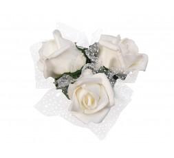Bukieciki z róż KWR4-079