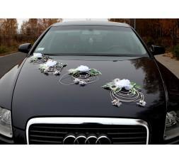 Dekoracja na samochód ratan -008