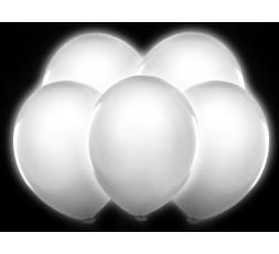 """Balony Led 12"""", biały, 5szt. BL5-002 Balony Led 12"""", biały, 5s"""