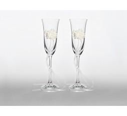 Kieliszki do szampana, 1op. KSD19 Kieliszki do szampana,
