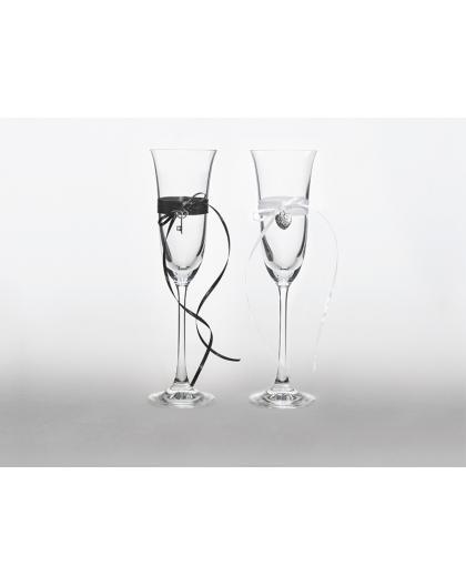 KSD25 Kieliszki do szampana