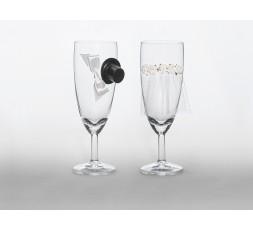 KSZ25 Kieliszki do szampana, 1op.
